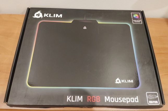 Podkładka pod myszkę KLIM RGB