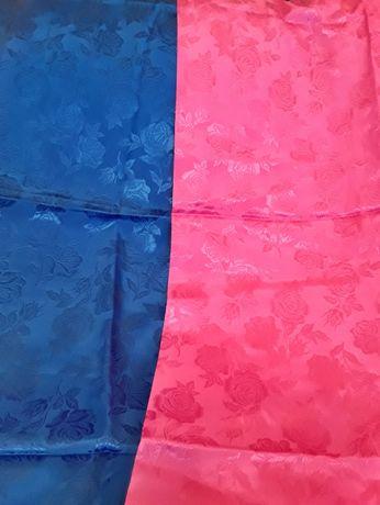 Ткань шелк набивной искусственный