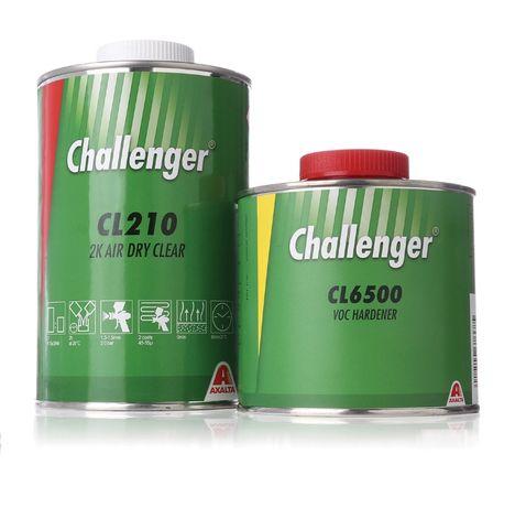 Лак Challenger 2K Air Dry Clear / Стойкий к царапинам / Новинка!!!