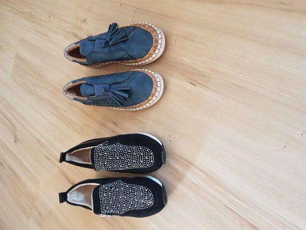 Buty damskie 2 pary nowe