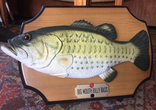 Поющая рыба, производство США. Хит 90-х