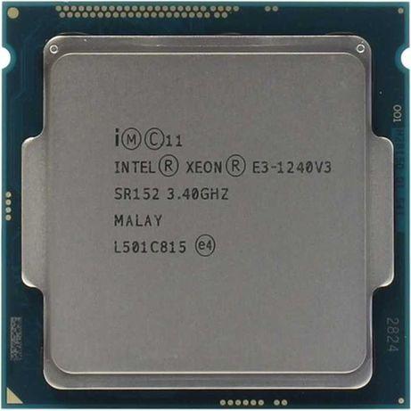 Intel Xeon Haswell e3 1240 v3(3, 4-3,8ГГц опт 1225 v3 1280 e3 1260L