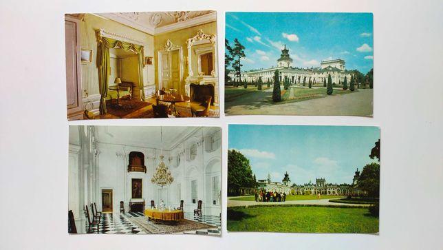 9 pocztówek / Warszawa: Pałac w Wilanowie / fot. Jabłoński