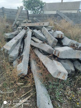 Шпалы бетонные  б/у