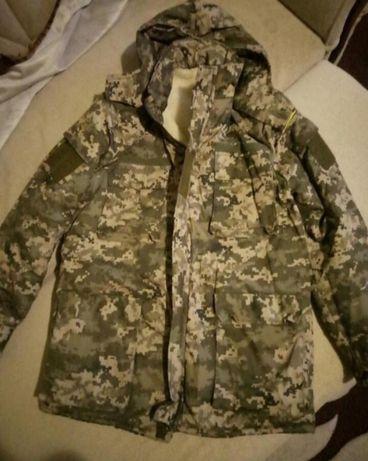 Теплый бушлат, куртка на меху