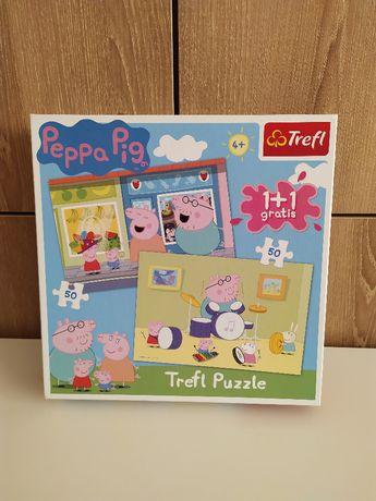 Puzzle Świnka Peppa - 2x50 el.