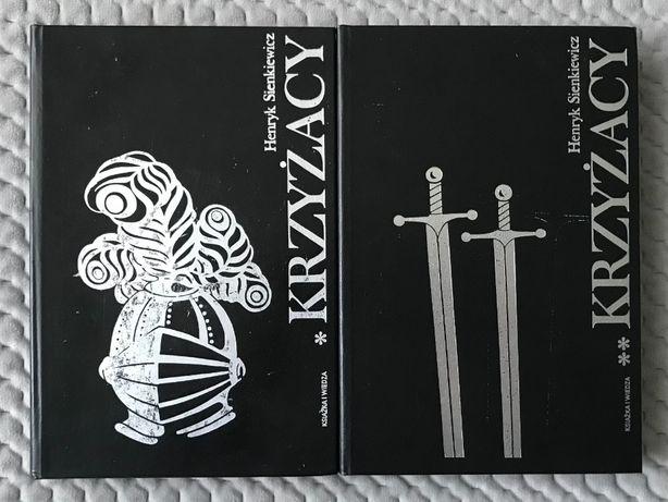 """Henryk Sienkiewicz """"Krzyżacy"""" - Tomy 1-2"""