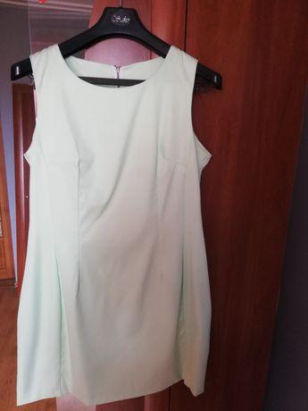 Mietowa sukienka rozm 42/44