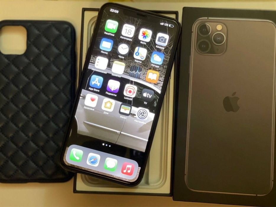 Продам iPhone 11 Pro Max 256Gb Midnight Green Киев - изображение 1