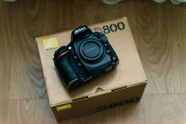 Nikon D800 пробіг 300тис