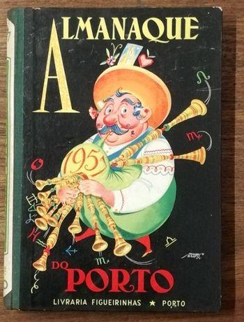 almanaque do porto, 1957, livraria figueirinhas