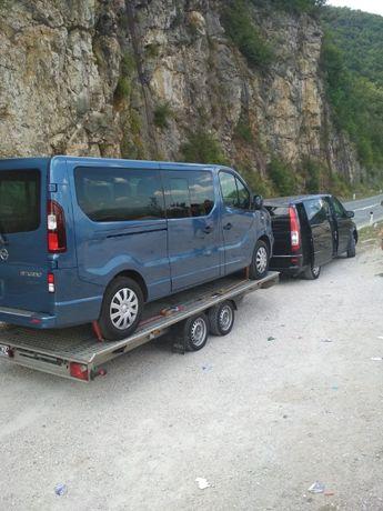 Holowanie Chorwacja, Austria, Niemcy, Czechy laweta, autolaweta tanio