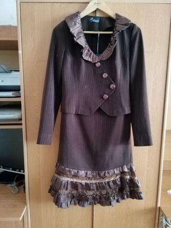 СНИЖЕНА ЦЕНА! Продам костюмчик юбка пиджак , р. 44-46