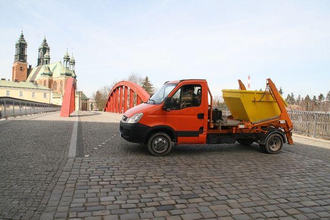 wywóz odpadów śmieci gruzu ziemi KONTENERY DOJAZD GRATIS, rozbiórki