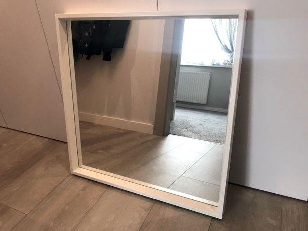 NISSEDAL lustro białe IKEA 65x65 cm