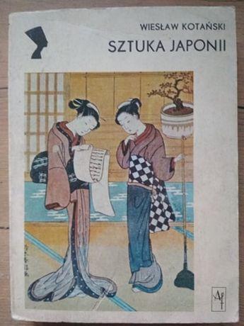 Sztuka Japonii Wiesław Kotański (wliczony kw)