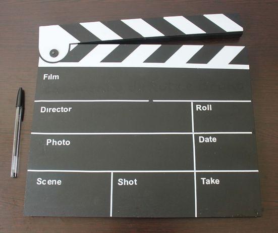 Claquete / Take de cinema - Livro de Honra para festa ou casamento