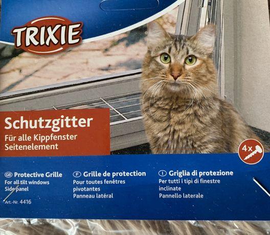 Ochrona na okno dla kota