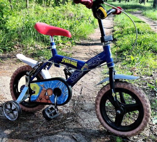 Велосипед на 12 колесах из Польши с доп. колесиками