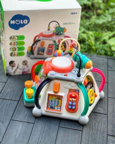 Мультибокс, мультицентр , музична іграшка, развивающая игрушка