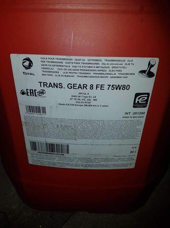 Olej TRANS GEAR 8 FE 75W80