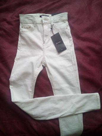 Nowe spodnie damskie Bershka, rozmiar 32 !