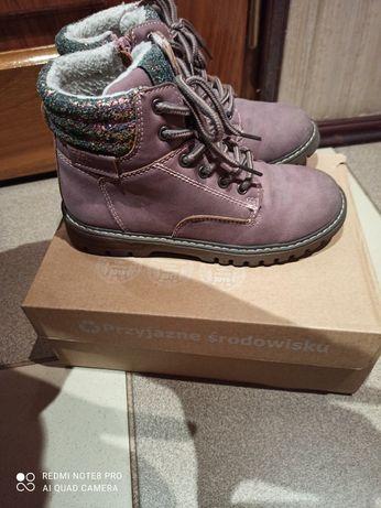 Buty zimowe dla dziewczynki rozm 31
