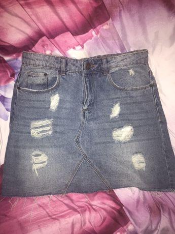 Spódnica jeansowa dżinsowa