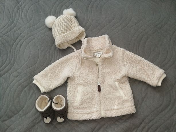 Newbie, Zara zestaw jesienno/zimowy dziewczynka rozmiar 68
