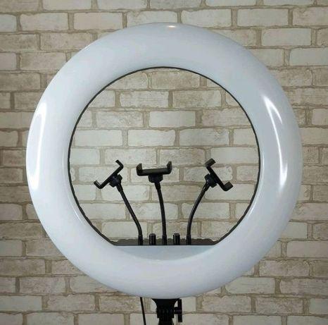 Кольцевая лампа 560 Led 65 Вт со штативом Кільцева лампа 55 см