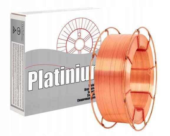 Drut spawalniczy Platinium gr. 1,2 rolka 15kg do migomatu duża szpula