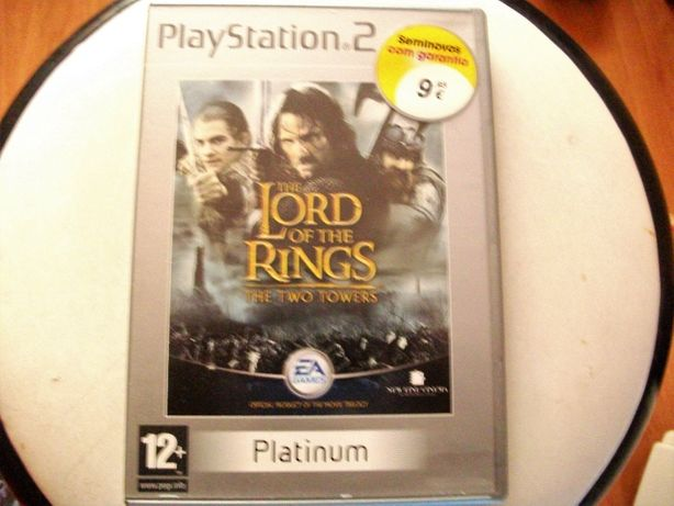 Jogo Playstation 2 - O Senhor dos Anéis: As Duas Torres