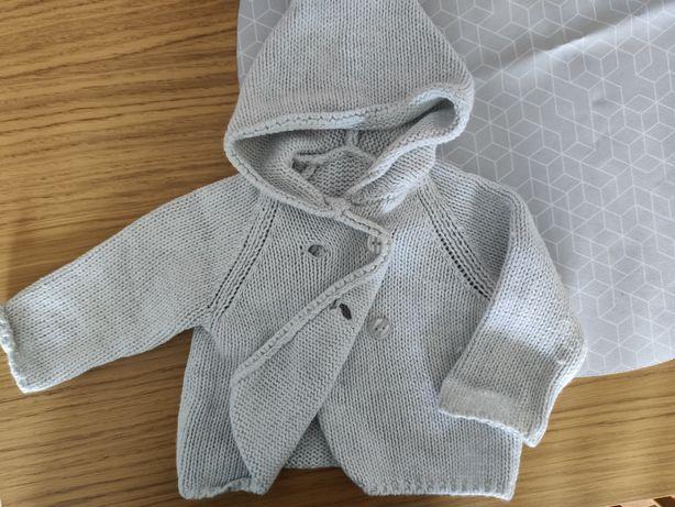 Sweterek dwurzędowy r62/68