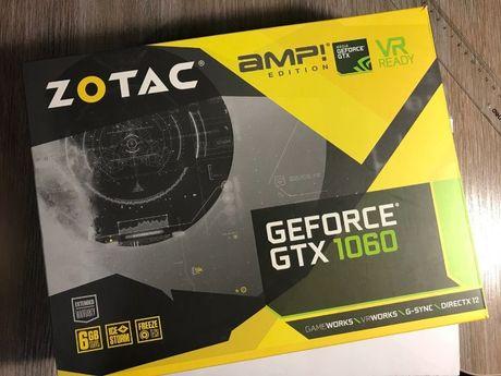 Видеокарта ZOTAC GTX1060 6Gb AMP! Edition