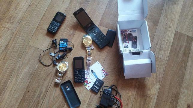 Uszkodzone telefony ,zegarki