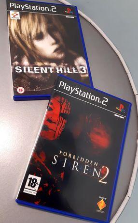 Jogos de terror PlayStation 2/PS2: Forbidden Siren 2 e Silent Hill 3