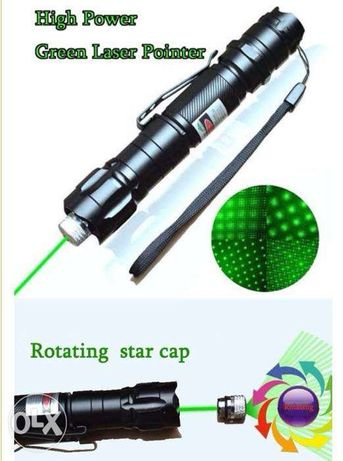Laser verde 1mw 532nm 8000M High Power Luz Pointer Pen Lazer