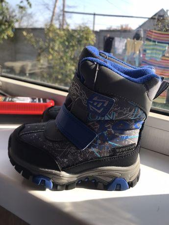 Зимние ботинки, зимние сапожки для мальчика