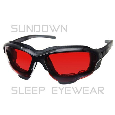 Óculos Sundown Eyewear- Lentes vermelhas PaleoTech Dark Therapy