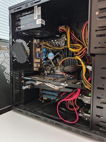 Komputer PC i5 4x3.2 GHz / 8GB DDR3 / SSD 256 GB / HD5850 1GB / WIN10