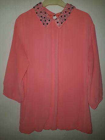 Коралова жіноча сорочка