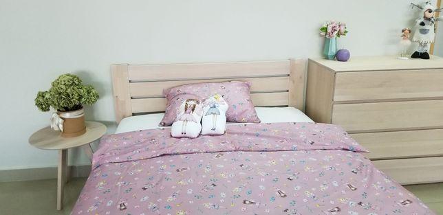 Ліжко масив дерево бук кровать массив 160х200