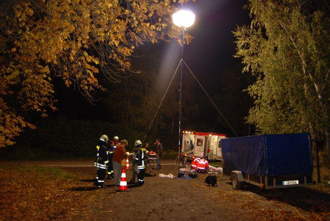 BALON ŚWIETLNY 1000W Powermoon oświetleniowy Lampa Przemysłowa