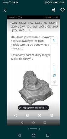 Dekiel biegów Osłona