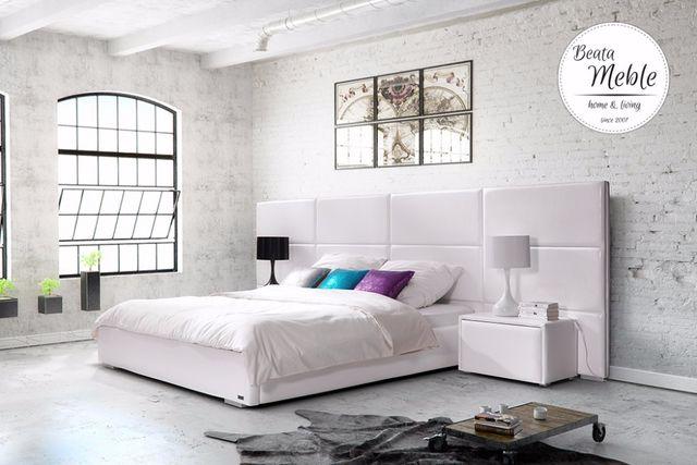 Łóżko sypialniane z dużym panelem producent 2 699 zł
