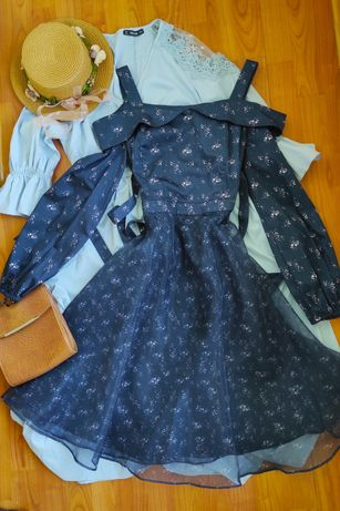 Бальное винтажное платье Vero moda , НОВОЕ