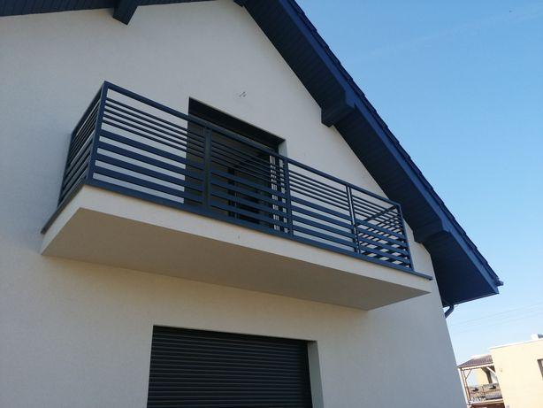 Spawanie balustrad stal nierdzewna czarna aluminium. Rurociągi itp.