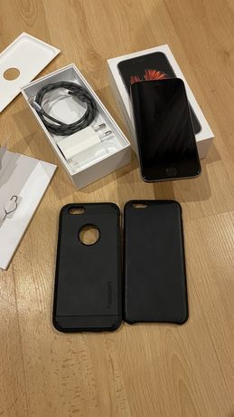 iPhone 6s, Space Gray 32GB +SuperStan+