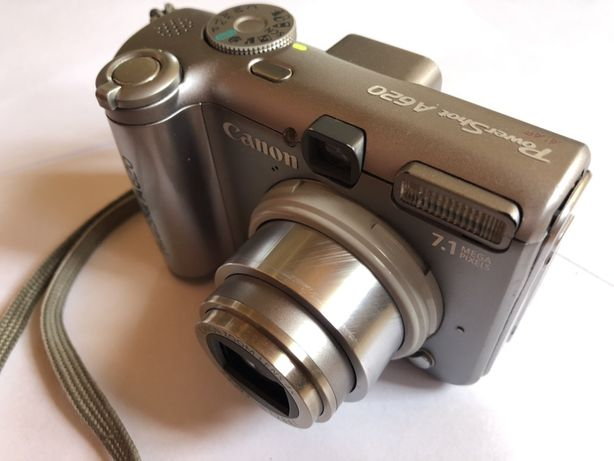 Aparat Cyfrowy Canon PowerShot A620 - 7,1Mp + karta SD 2GB!
