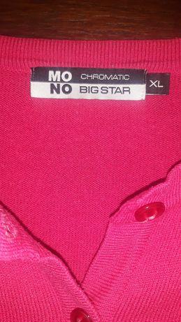 Sweterek różowy Big Star